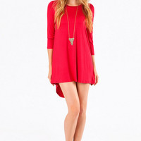 Down Low Tunic Dress $36