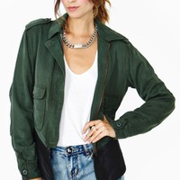 Dakota Collective Austin Leather Army Jacket