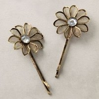 Metal Petals Bobby Pin