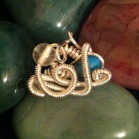 Beautiful Wire Wrapped Ring on Handmade Artists' Shop