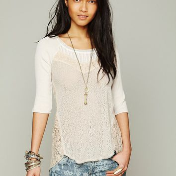 Free People We The Free Mix Up Hacci Tee