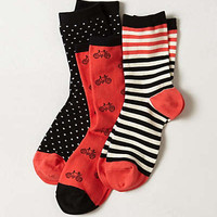 Anthropologie - Tri-Pattern Sock Set