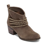"Jessica Simpson ""Clauds"" Ankle Bootie with Stud Detail - Mink at www.younkers.com"