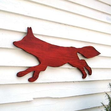 One Kings Lane - Add Spellbinding Style - Red Fox Wall Decor