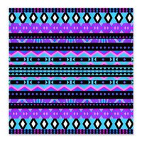 Princess #4, Purple Aztec Shower Curtain> Shower Curtains> Ornaart