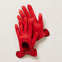 Anthropologie - Leather Driving Gloves