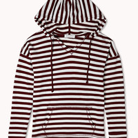 Everyday Striped Hoodie | FOREVER 21 - 2076805843