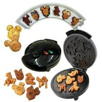 Disney Mickey &amp;Gang 5 in 1 Tasty Baker Waffle Maker,Bakes Pancake,Muffins, breads, cakes, and brownies