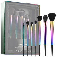 Sephora: SEPHORA COLLECTION : Holiday Light Show Brush Set : brush-sets-makeup-brushes-applicators-makeup