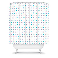 DENY Designs Home Accessories | Laura Redburn Pastel Arrows Shower Curtain