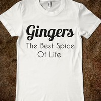 GINGERS THE BEST SPICE OF LIFE