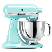 Amazon.com: KitchenAid KSM150PSIC Artisan Series 5-Quart Mixer, Ice: Kitchen & Dining