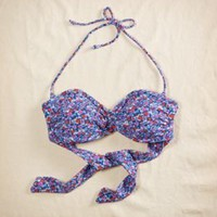 Aerie Print Bandeau Bikini Top - aerie