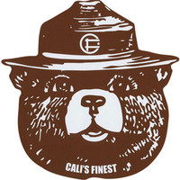 CALI'S FINEST Smokey Sticker