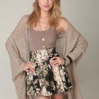 Wow Floral Printed Skirt at Free People Clothing Boutique