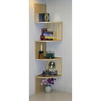 Amazon.com: 4D Concepts Hanging Corner Storage, Maple: Home & Kitchen