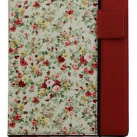 splash RAINDROP Case Cover for iPad 3 The New iPad 3rd Generation  iPad 2 (FLORAL RED - includes Glider Stylus and Masque Screen Protective Film
