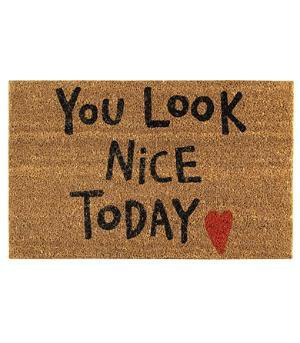 Feel good doormat
