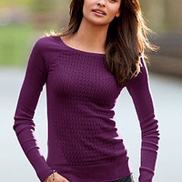 Crewneck Sweater - Feather Sweaters - Victoria's Secret