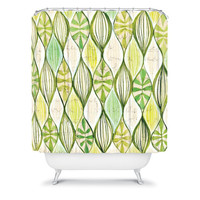 DENY Designs Home Accessories | Cori Dantini Green Shower Curtain