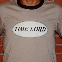 Doctor Who Time Lord T-Shirt. Doctor Who Inspired Shirt. Customize To Size And Color.