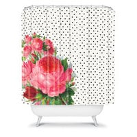 Allyson Johnson Floral Polka Dots | DENY Designs Home Accessories