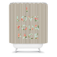 Allyson Johnson Floral I Love Your Face | DENY Designs Home Accessories