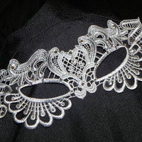 Soft Lace Masquerade Mask - Available in Many Colors