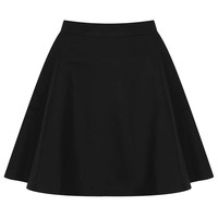 Textured Pocket Skater Skirt - Topshop USA