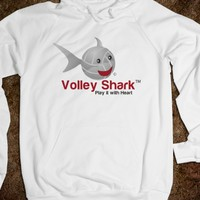Volley Shark  volleyball hoodie 2013