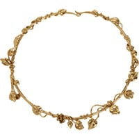 Aurelie Bidermann Gold Majorelle Gardens Collar at Barneys.com