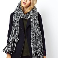 ASOS Cable Tassel Scarf at asos.com