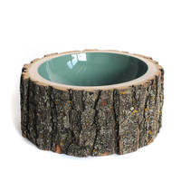 Fab.com Pop-Up Shop: Log Bowl Large Pale Sage