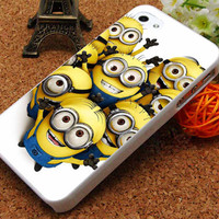 minion iPhone 5C Case, iPhone 5/5S Case, iPhone 4/4S Case, Durable Hard Case USPSSHOP