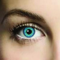 Mesmereyez Two Blues Coloured Contacts (Comfort)