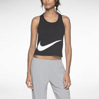 Nike Luxe Cropped Speed Women's Running Tank Top
