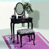 Crown Mark Vanity, Cherry:Amazon:Home & Kitchen