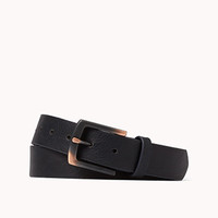 Burnished Buckle Belt