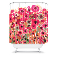 DENY Designs Home Accessories | Natasha Wescoat Brightly Blooming Shower Curtain