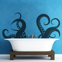 Vinyl Wall Decal Sticker Tentacles #OS_MB316 | Stickerbrand wall art decals, wall graphics and wall murals.