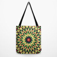 Layered Pattern Tote Bag by Abstracts by Josrick