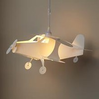 Kids Lighting: Airplane Ceiling Lamp in Ceiling Fixtures | The Land of Nod