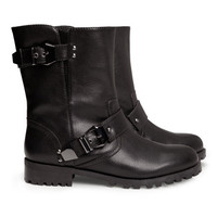 Biker Boots - from H&M