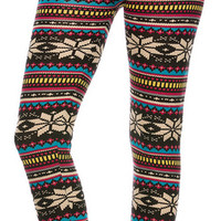 Colorful Aztec Leggings