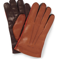 Etro Three-Colour Leather Gloves | MR PORTER