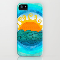 A Happy Day iPhone & iPod Case by Pom Graphic Design