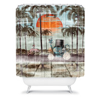 DENY Designs Home Accessories | Belle13 Alice Goes To California Shower Curtain