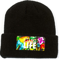 Patterns Beanie (Sold Out) | Yea.Nice - It's A Brand.