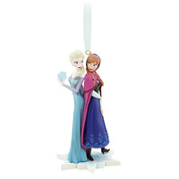 Disney Anna and Elsa Ornament - Frozen | Disney Store