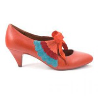 Irregular Choice | Womens | Poetic Licence | Poetic Licence Delish (in red)